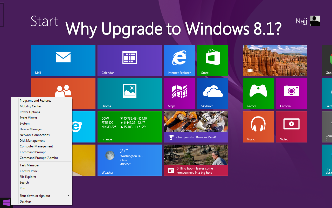 Top 4 Reasons to Upgrade to Windows 8.1